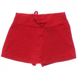 Shorts Saia Have Fun Infantil Juvenil Liso Cotton Cadarço 31742
