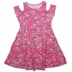 Vestido Infantil Colorittá Floral Cotton Detalhe Ombro 31959