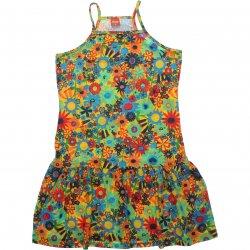 Vestido Infantil Elian Estampa Floral Alça Nadador 31918