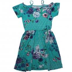 Vestido Juvenil Rovitex Ciganinha Floral 311233
