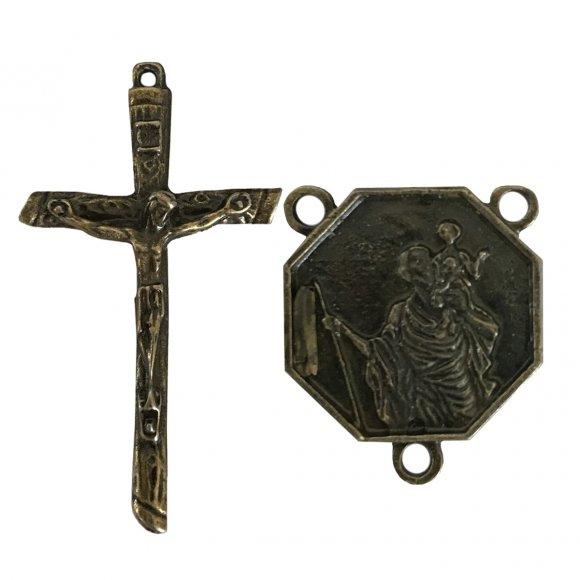 Cartão com Medalha do Anjo da Guarda