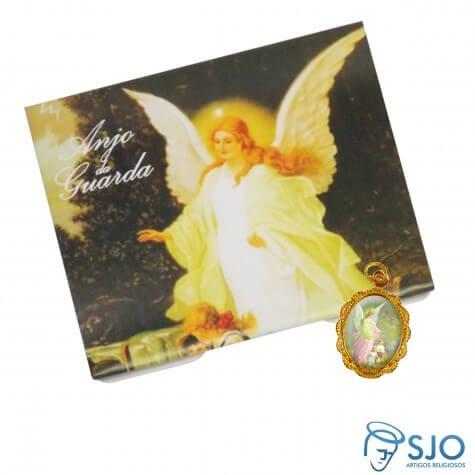 50 Cartões com Medalha do Anjo da Guarda