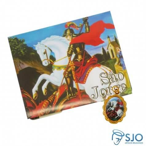 Cartão com Medalha de São Jorge