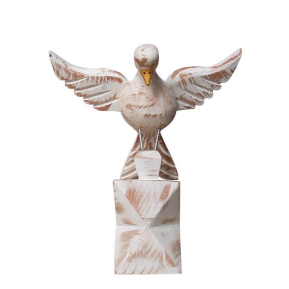 Adorno Divino Espírito Santo no Pedestal - 13 cm