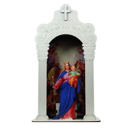 Capela Nicho Nossa Senhora Auxiliadora com Luz