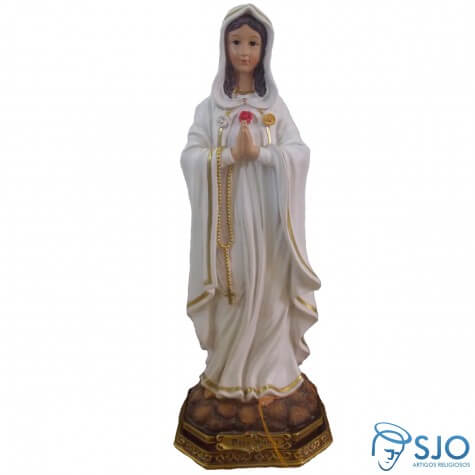 Imagem de Resina Nossa Senhora Rosa Mistica - 42 cm