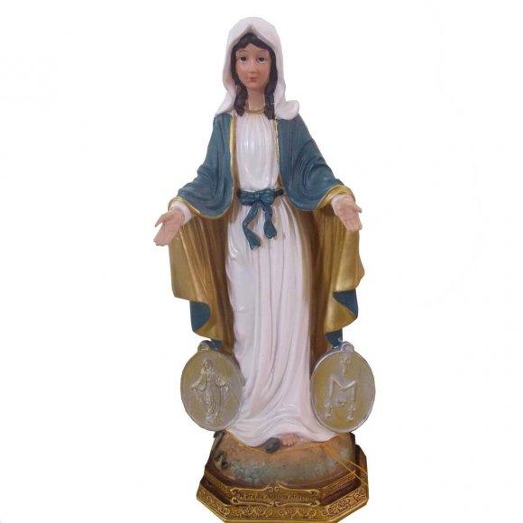 Imagem De Resina Nossa Senhora Da Medalha Milagrosa - 42 Cm