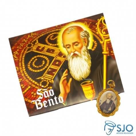 50 Cartões com Medalha de São Bento