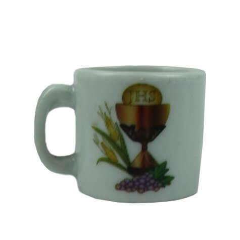 Mini Caneca de Porcelana Eucaristia