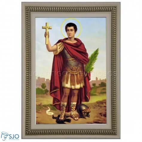Quadro Religioso Santo Expedito - 70 x 50 cm