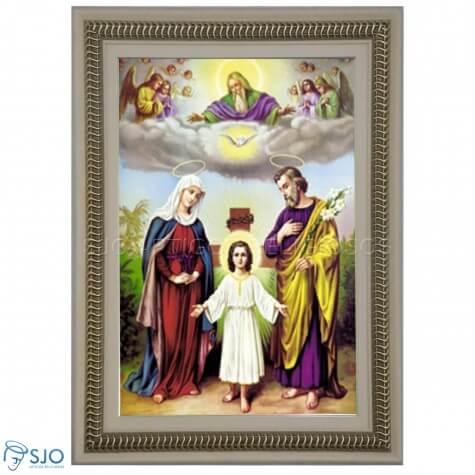 Quadro Religioso Sagrada Família - 70 x 50 cm - Mod. 2