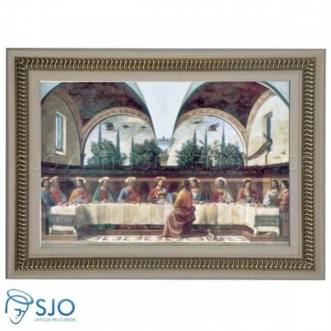 Quadro Religioso Arcos Ceia 60 x 90 cm