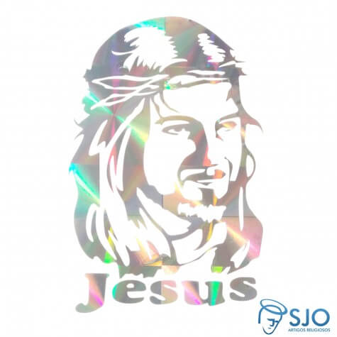 Adesivo da Face de Cristo