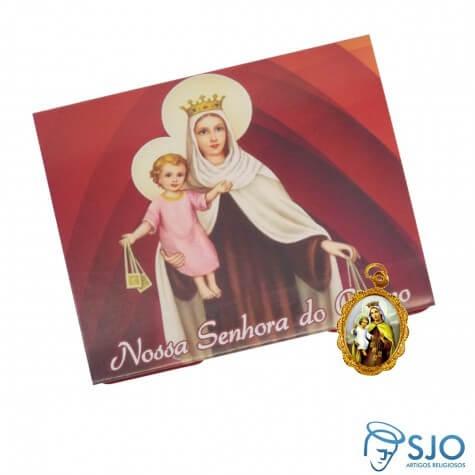 50 Cartões com Medalha de Nossa Senhora do Carmo