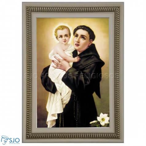 Quadro Religioso Santo Antônio - 70 x 50 cm