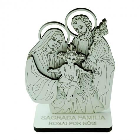Adorno de Mesa Sagrada Família - Mod. 3
