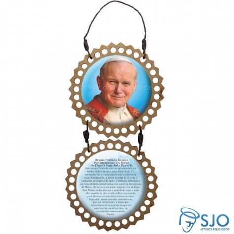 Adorno de Porta Redondo - João Paulo II