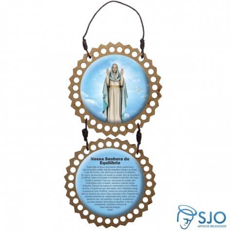 Adorno de Porta Redondo - Nossa Senhora do Equilíbrio