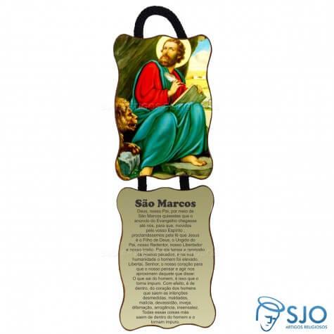 Adorno de Porta Retangular - São Marcos