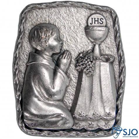 Porta Retrato de Mesa Eucaristia - Menino