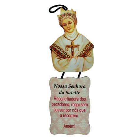 Adorno de Porta Nossa Senhora Salete