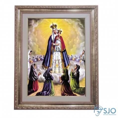 Quadro - Nossa Senhora do Bom Parto- 52 cm x 42 cm