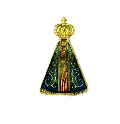 Botton Nossa Senhora Aparecida Pequeno - 1,4 cm