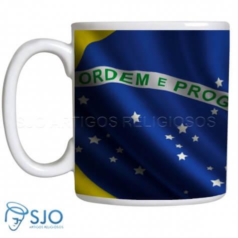 Caneca Personalizada Bandeira do Brasil