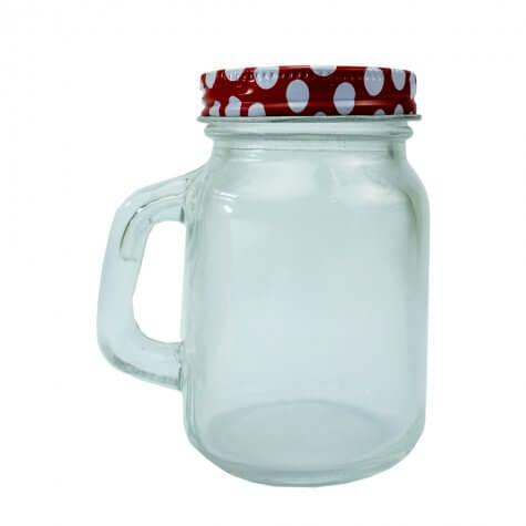 Caneca Mason Jar - 100 ml