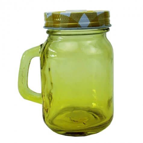 Caneca Mason Jar - 120 ml