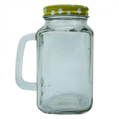 Caneca Mason Jar - 200 ml