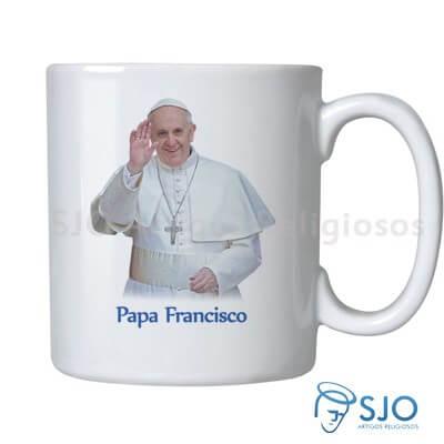 Caneca Papa Francisco com Oração