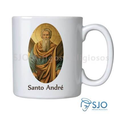 Caneca Santo André com Oração