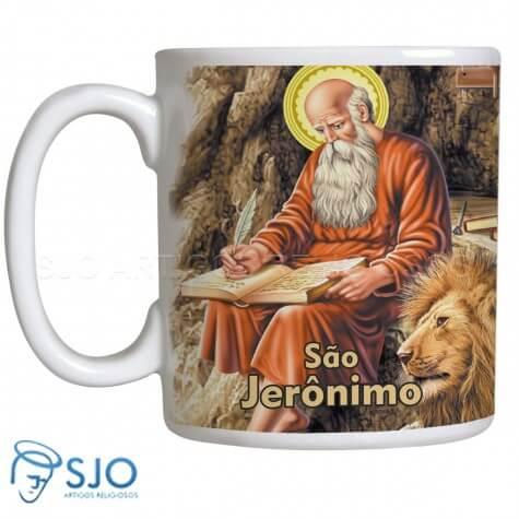 Caneca São Jerônimo com Oração
