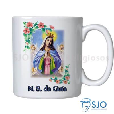 Caneca Nossa Senhora da Guia com Oração