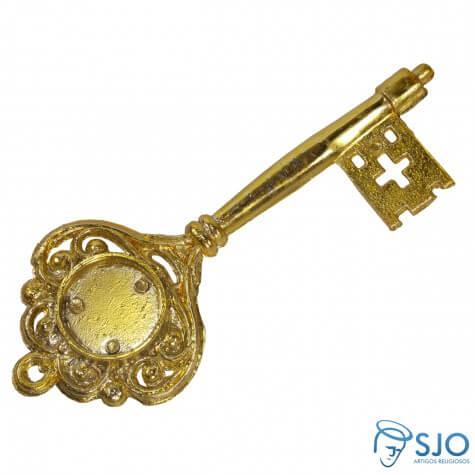 Chave Dourada Personalizada - 14 cm