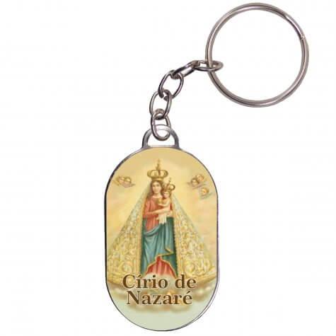 Chaveiro Chapinha - Nossa Senhora de Nazaré
