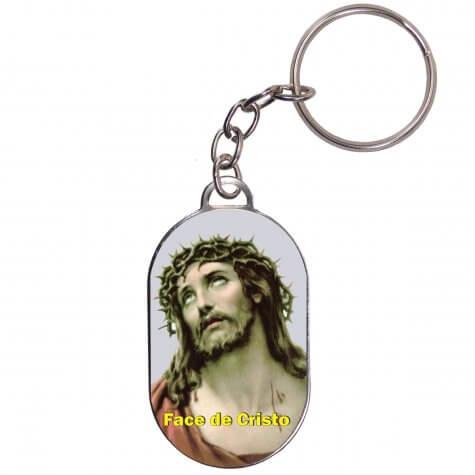 Chaveiro Chapinha - Face de Cristo