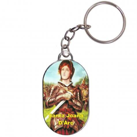 Chaveiro Chapinha - Joana D'Arc