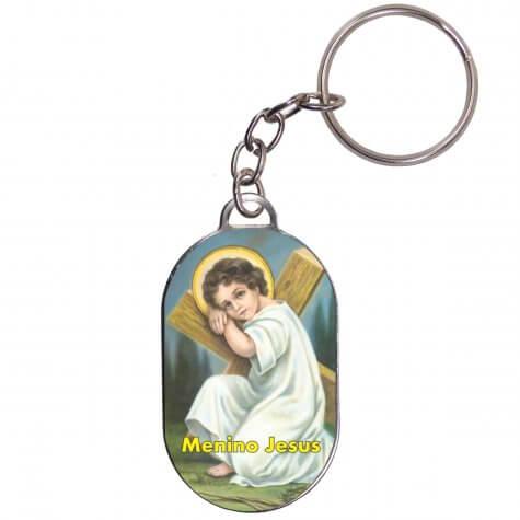 Chaveiro Chapinha - Menino Jesus