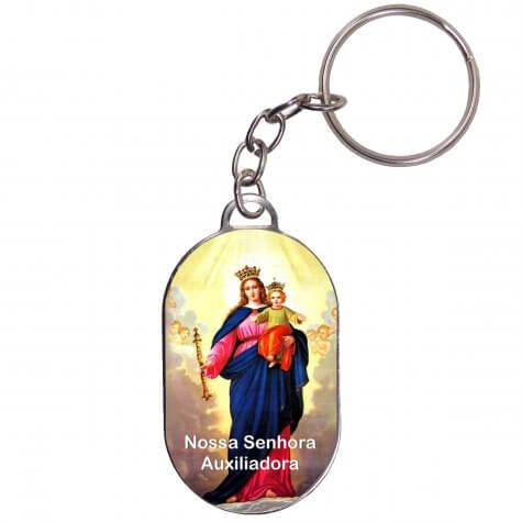 Chaveiro Chapinha - Nossa Senhora Auxiliadora