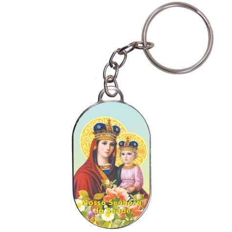 Chaveiro Chapinha - Nossa Senhora da Saúde