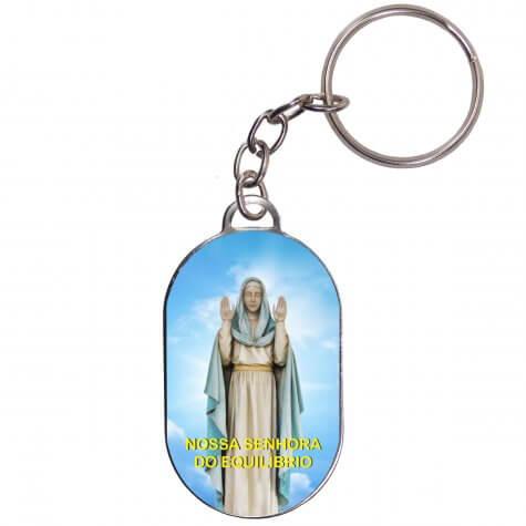Chaveiro Chapinha - Nossa Senhora do Equilibrio