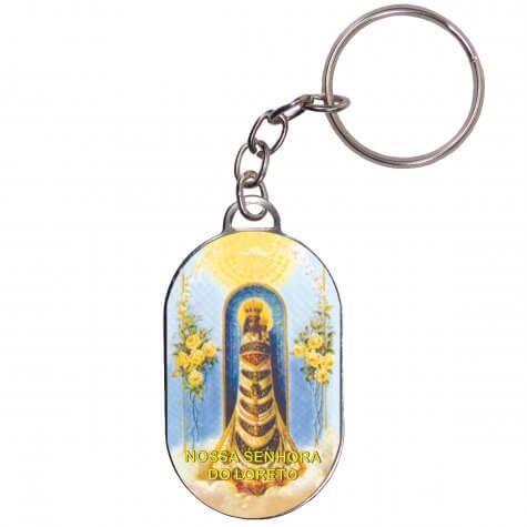 Chaveiro Chapinha - Nossa Senhora do Loreto