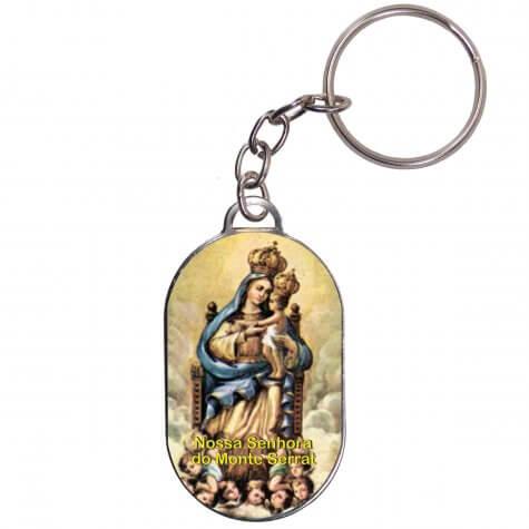 Chaveiro Chapinha - Nossa Senhora do Monte Serrat