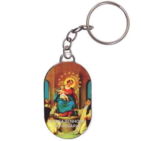 Chaveiro Chapinha - Nossa Senhora do Rosário