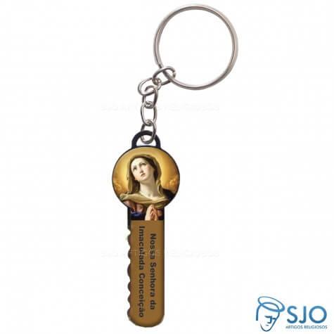 Chaveiro Chave Nossa Senhora da Imaculada Conceição - Modelo 2