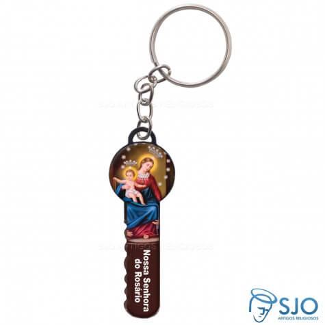 Chaveiro Chave Nossa Senhora do Rosário