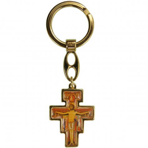 Chaveiro Cruz de São Damião