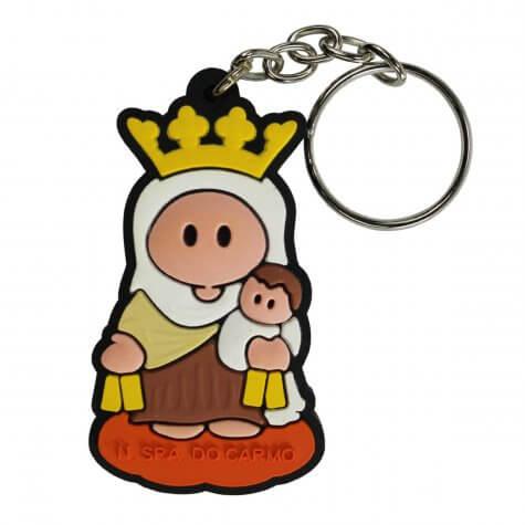 Chaveiro Emborrachado Nossa Senhora do Carmo